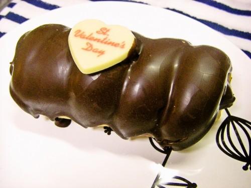 バレンタイン チョココロネ
